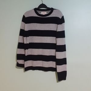 80%LAMBSWOOL L/SLEEVE PULLOVER CARDIGAN KNIT